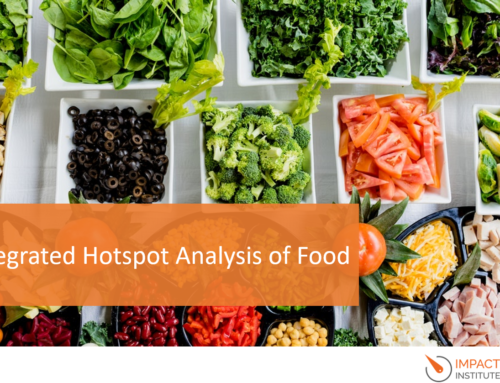 Integrated Hotspot Analysis – the negative and positive impacts of food